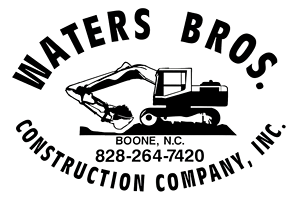 Waters Brothers Construction - Blowing Rock Banner Elk Boone Watauga County NC Grading Contractors and Excavation Contractors